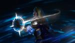 Обои Косплей-модель Sakura Amy в образе Jaina Proudmoore / Джайны Праудмур из игры World of Warcraft / Мир военного ремесла, by Aku