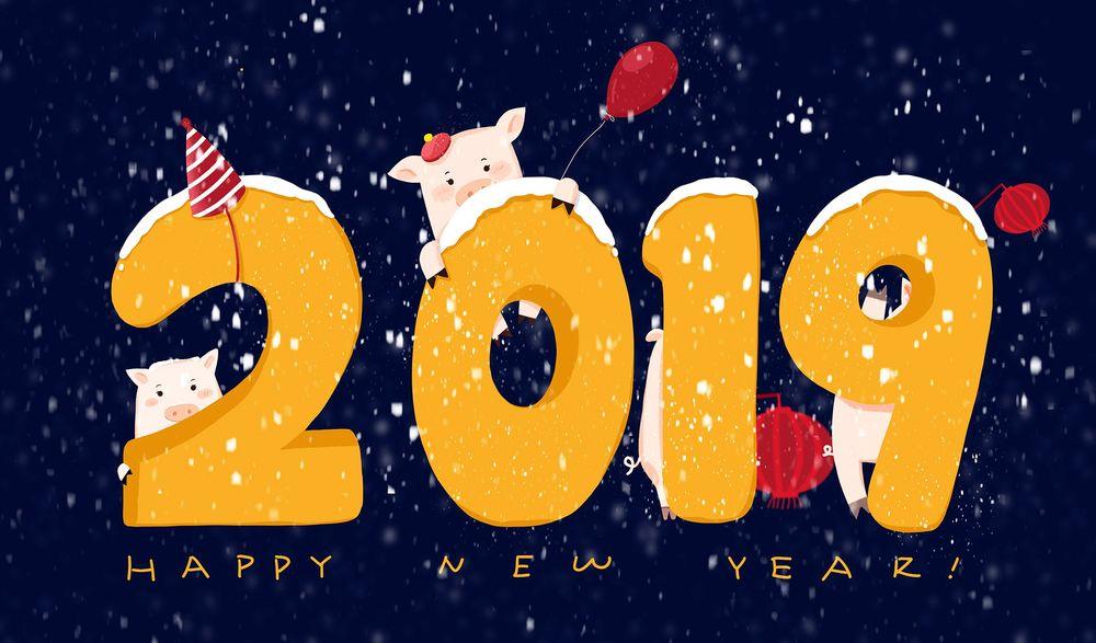Картинки символа нового года 2018 на рабочий стол, картинки