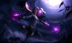 Обои Косплей-модель Enzh в образе КайСы / KaiSa из игры Лига Легенд / League of Legends, by Aku