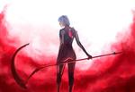 Обои Косплей-модель Frosel в образе Ayanami Rei / Аянами Рэй из аниме Evangelion / Евангелион, by Aku