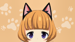 Обои Tanaka-chan / Танака-чан из аниме Nora to Oujo to Noraneko Heart / Нора, принцесса и бродячая кошка, by sanoboss