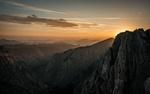 Обои Восход солнца в горах