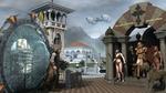Обои Фрагмент улицы в Атлантиде, фэнтези, by Vilius Alvydas Bulotas