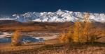 Обои Осень на Алтае, Северо-Чуйский хребет, фотограф Влад Соколовский