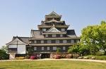 Обои Замок Окаяма — японский замок, находящийся в городе Окаяма префектуры Окаяма