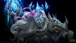 Обои Jaina Proudmoore / Джайна Праудмур из игры World of Warcraft / Мир военного ремесла, by Will Murai