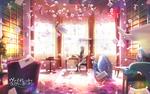 Обои Violet Evergarden / Вайолет Эвергардэн сидит за столом в светлом просторном кабинете в вихре писем из аниме Violet Evergarden