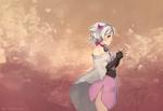 Обои Белокурая девушка в платье, by elfexar
