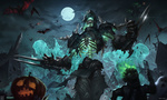 Обои Zed / Зед в Halloween / Хэллоуин из игры League of Legends / Лига Легенд, by mist XG