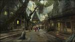 Обои Люди идут по улице древнего города, by Sergey Musin