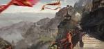 Обои Люди идут по дороге в старом городе, среди Гималайских гор, by Sergey Musin