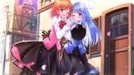 Обои Hoto Cocoa / Кокоа Хото, Kafuu Chino / Тино Кафу и Tippy / Типпи, персонажи из аниме Gochuumon wa Usagi desu ka? / Кролика заказывали, art by swordsouls