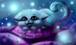 Обои Kitty Cheshire / Китти из мультсериала Ever After High / Эвер Афтер Хай в образе котенка, by xtwistedxamayax
