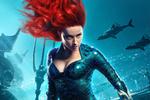Обои Актриса Amber Heard / Эмбер Херд в образе Mera-Queen of Atlantis / Меры-Королевы Атлантиды из фильма Aquaman / Аквамен