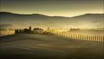 Обои Осень в Tuscany / Тоскане, by Georg Scharf