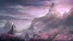 Обои Человек-воин стоит на фоне панорамного вида на горы, by ReFiend