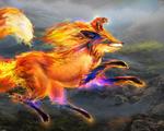 Обои Дух огненной лисы, by Tsabo6