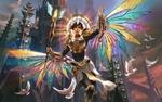 Обои Богиня Магии Isis / Исида, арт к игре Smite, by Simon Eckert