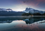 Обои Восход на горном озере. Фотограф Evgeny