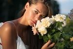 Обои Девушка с розами. Фотограф Dmitry Shulgin