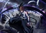 Обои Kurosaki Ichigo / Куросаки Ичиго сражается, аниме Блич / Bleach, by Tito Kubo