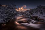 Обои Зима в El Chalten, Argentina / Эль Чалтен, Аргентина, by Simon Roppel