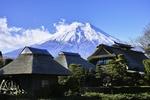 Обои Вид на вулкан Фудзи / Fuji в ясный день, Япония / Japan, by koshinuke_mcfly