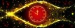 Обои Циферблат часов на абстрактном фоне, как символ приближающегося Нового года, by Dorothe