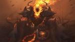 Обои Демон в огне, by Alvin Lee