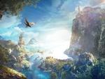 Обои Красивый пейзаж из игры Assassins Creed Odyssey