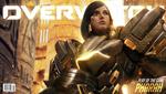 Обои Pharah, Fareeha Amari / Фарра, Фария Амари, из игры Overwatch / Дозор, by Johnson Ting