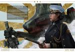 Обои Девушка-командир Atsuko Kuroda Iron Battalion / Железного Батальона, арт к книге Milky Overload, by Johnson Ting