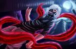 Обои Ken Kaneki / Кен Канеки из аниме Tokyo Ghoul / Токийский Гуль, by diarcora