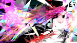Обои Rize Kamishiro / Ризэ Камиширо из аниме Tokyo Ghoul / Токийский гуль, by evjaston