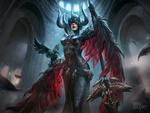 Обои Queen / Королева драконов из игры Vainglory / Тщеславие, by Azora Studio