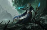 Обои Jaina Proudmoore / Джайна Праудмур из игры World of Warcraft / Мир военного ремесла, by Qichao Wang