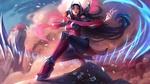 Обои Irelia / Ирелия из игры Лига Легенд / League of Legends, by Jessica Oyhenart