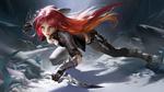 Обои Katarina / Катарина из игры League of Legends / Лига Легенд, by LAO WANG