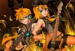 Обои Vocaloid Len, Rin Kagamine / Вокалоид Лен, Рин Кагамине, by Sarasenia