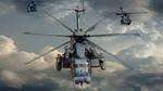 Обои Атака вертолетного звена