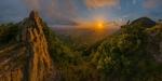 Обои Весенний закат на склоне Бештау, Кавказские Минеральные Воды, фотограф Лашков Федор
