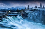 Обои Плотина Post Falls / Пост-Фолс в Post Falls / Пост-Фолс, штат Idaho / Айдахо, by Gabe Lawson