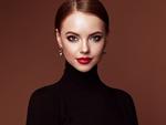 Обои Девушка с идеальным макияжем, by Oleg Gekman