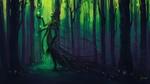 Обои Forest of Memories / Лес воспоминаний, art by Alena Aenami