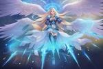 Обои The Ice Goddess / Ледяная Богиня, by Vu Nguyen