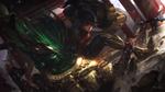 Обои Warring Kingdoms Vi из игры League of Legends / Лига Легенд, by Alex Flores