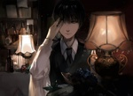 Обои Kaneki Ken / Канеки Кен из аниме Tokyo Ghoul / Токийский Гуль