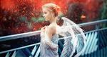 Обои Девочка с крыльями ангела, by Sergey Piltnik