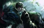 Обои Kaneki Ken / Канеки Кен аниме Tokyo Ghoul / Токийский Гуль