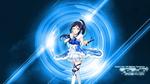 Обои Танцующая девушка в бальном платье из аниме Love Live! Sunshine / Живая любовь! Сияние
